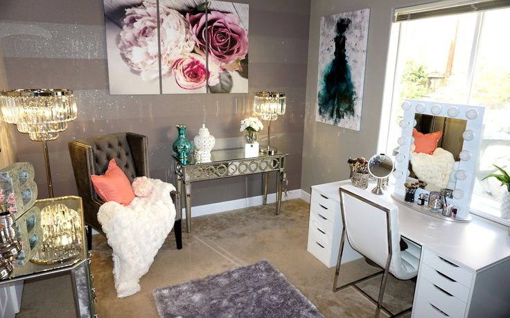 My Vanity/ Beauty Room Tour