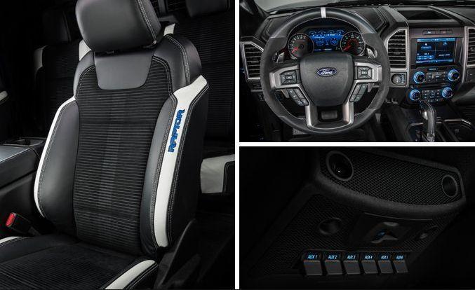 2017 Ford Raptor Interior Design