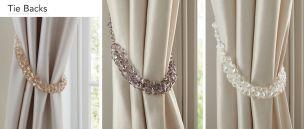 Curtain Poles/ Tie Backs