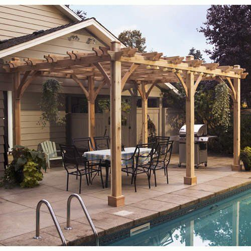 Superb Cedar Pergola Kits | Pergola Kits Make The Job Easier