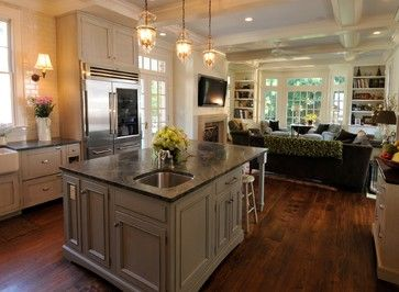 Kitchen Is 18 X 20 Island Is 4 5 X 9 Family Room Is