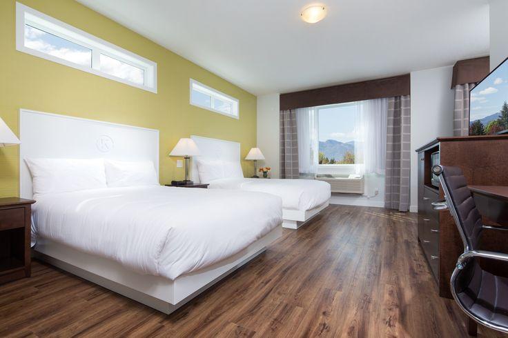 Premium guest rooms at the Kelowna Inn & Suites.