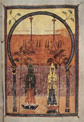 Pre-Romanesque - The two witnesses - Ende