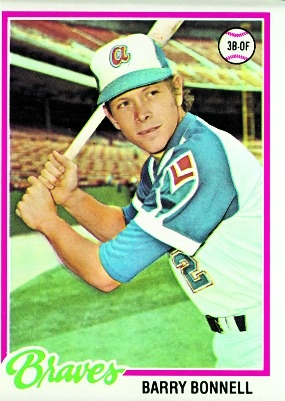 Topps Diamond Giveaway - Barry Bonnell 1978