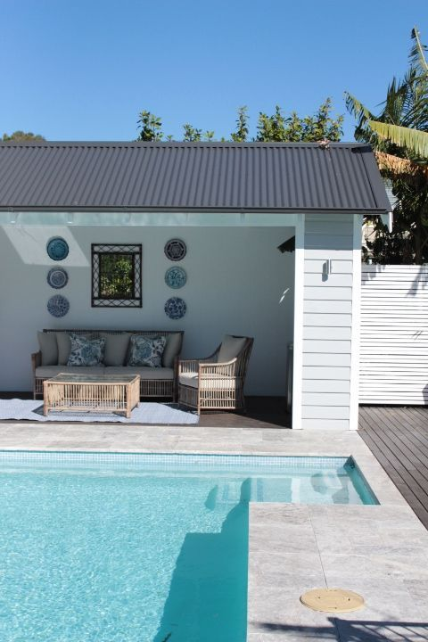 54 best images about pool house decor on pinterest pool for Pool house interior