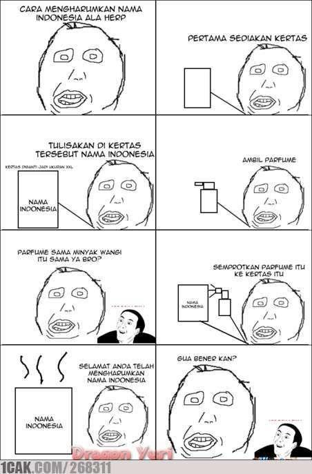 Cara Mengharumkan nama Indonesia ala Herp... #1cakerzz