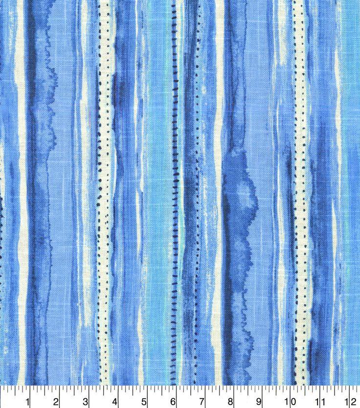 Dena Home Upholstery Fabric 54'' - Azure Splash Zone
