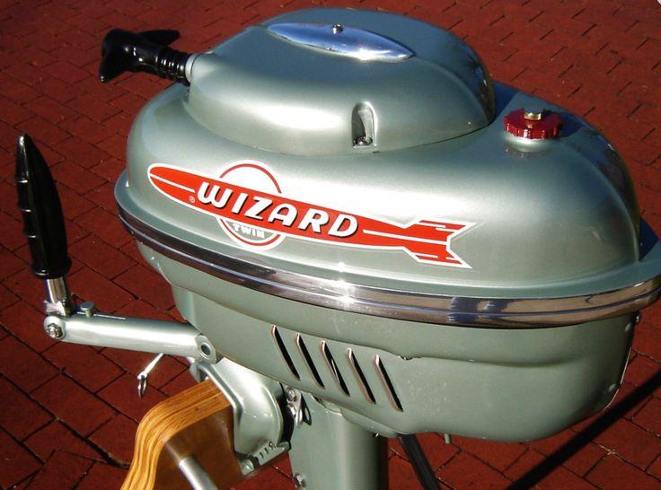 Wizard Outboard Motor