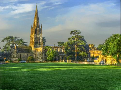 Church on the Green, Witney, Oxfordshire, UK