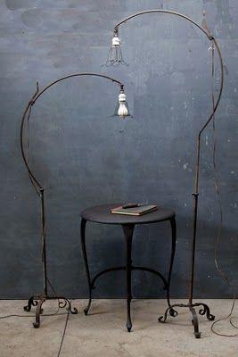 1930's Floor Lamps