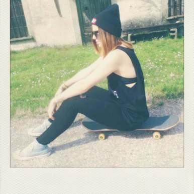 MALIBU tank top, beanie, skateboard photo, street wear, grunge style