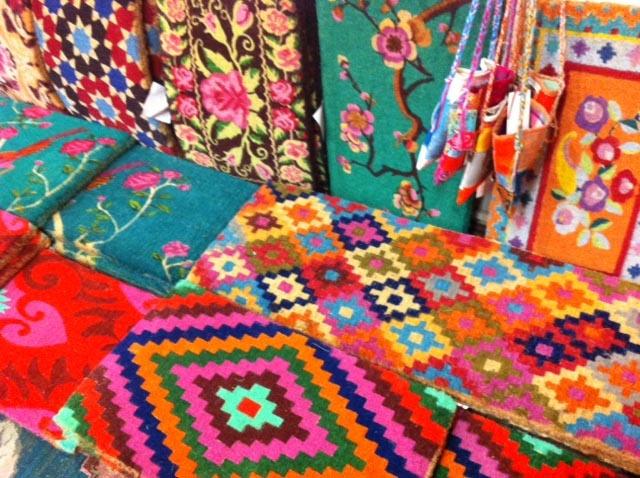 doormats at Gypsiana,designed by Anna Chandler