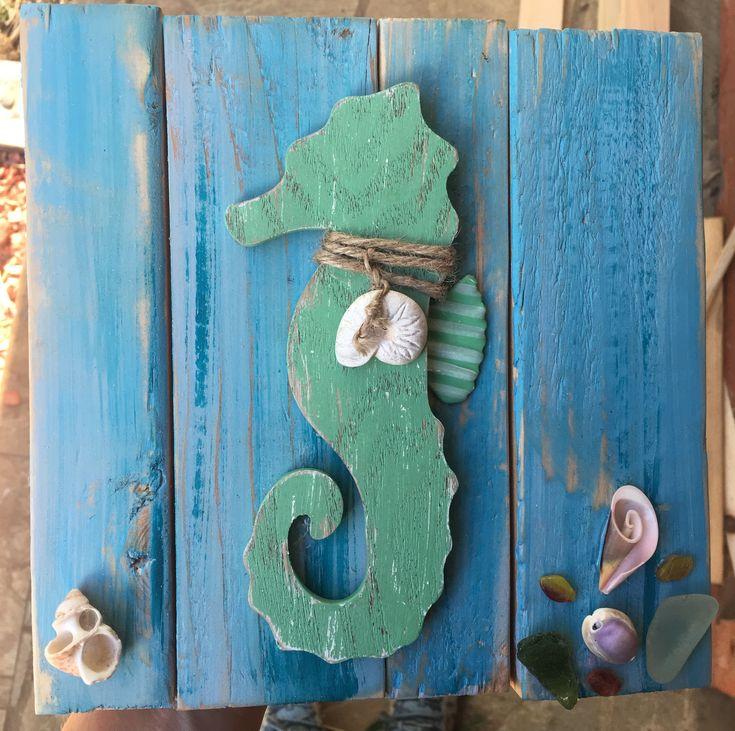 Undersea Pony #glitzoncanvas #glitzonboards #amermaidsminddesigns