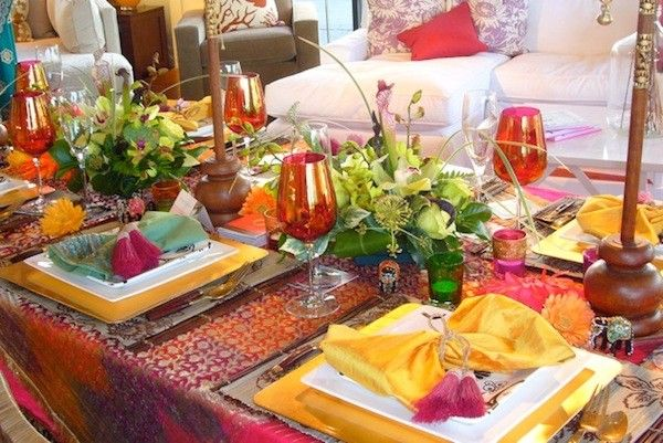 Table top decoration for festivals