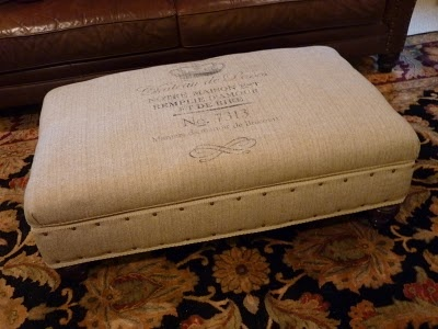 Forever In Clover: French Burlap Ottoman - Oui! Oui! - Best 25+ Burlap Ottoman Ideas On Pinterest Burlap Coffee Bags