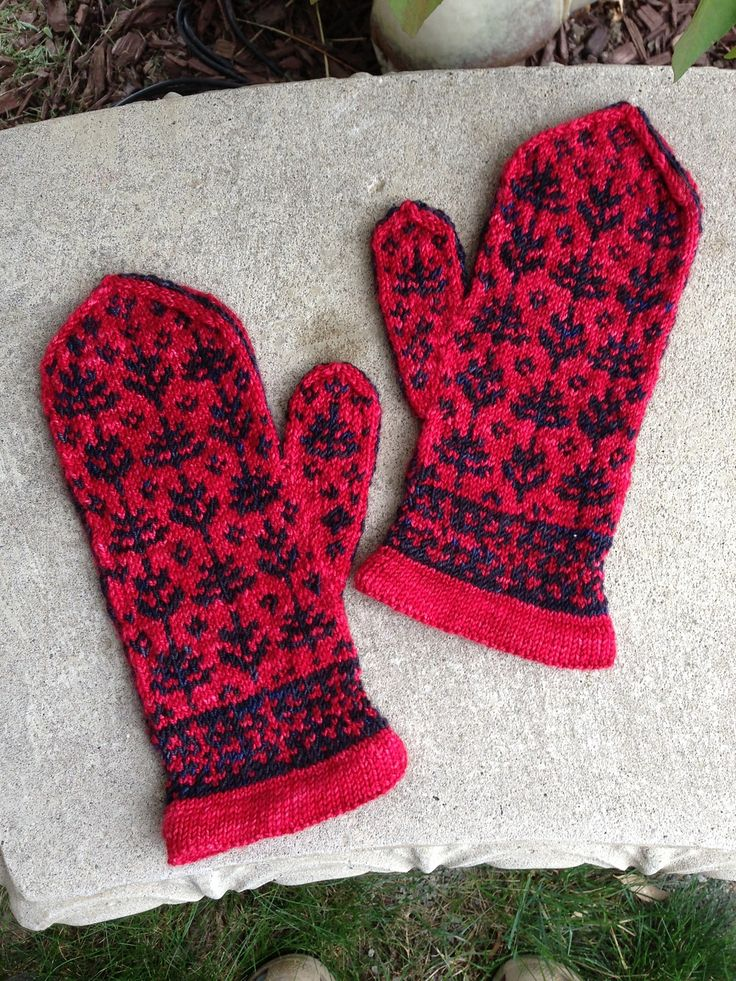 495 best Knitting - mittens and socks. images on Pinterest ...