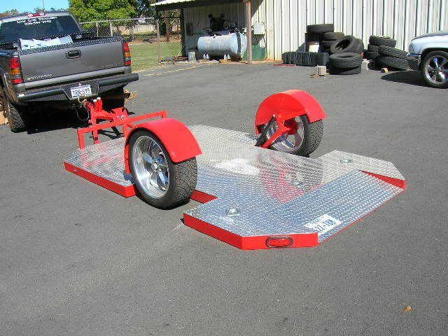 lowered suspension trailer