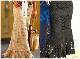 Little Treasure s: 10 Amazing Crochet Skirts - free patterns and charts