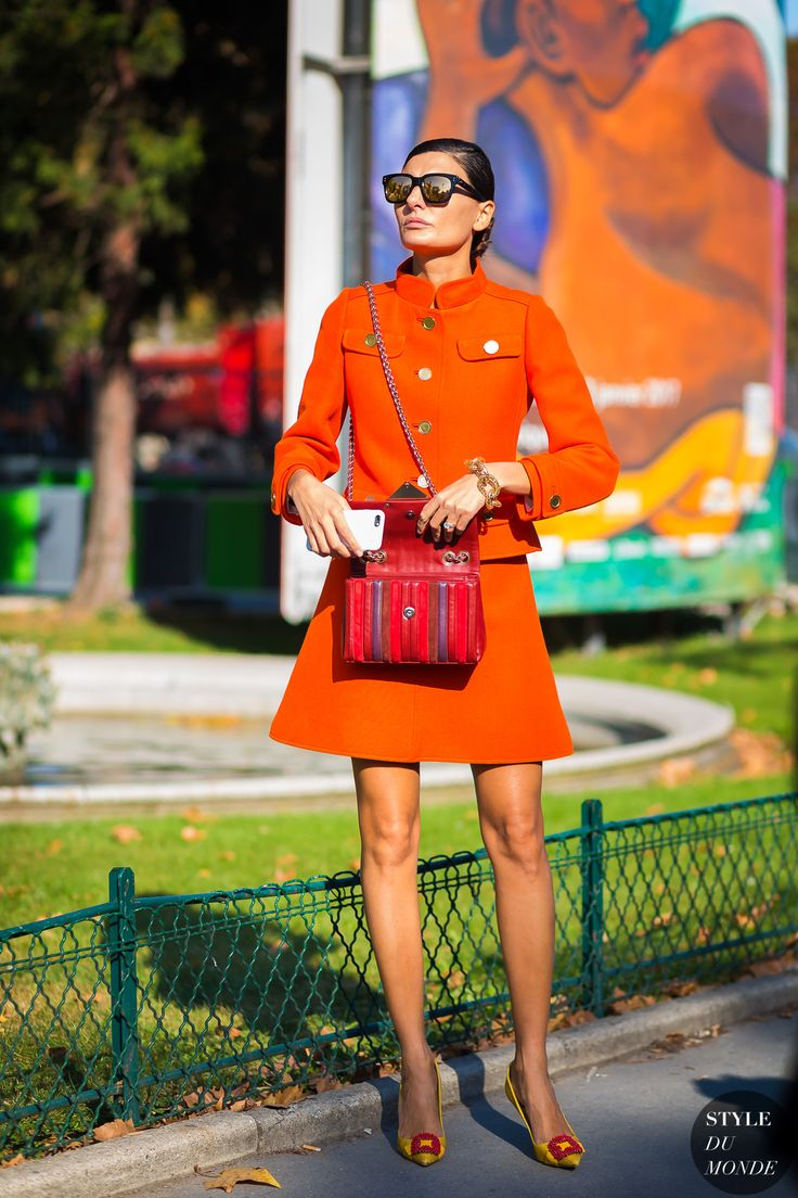 Giovanna Battaglia Engelbert by STYLEDUMONDE Street Style Fashion Photography
