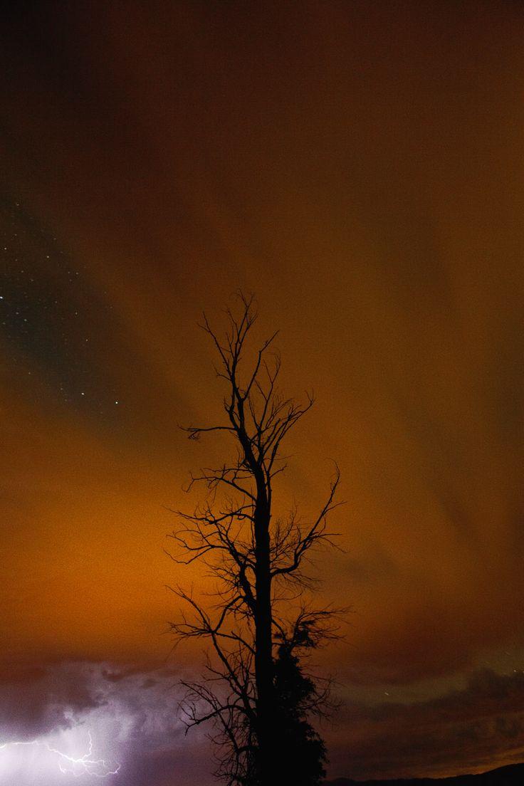 Night Sky (Lightning),  2014