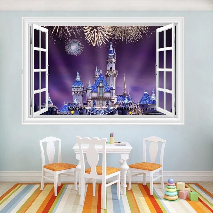 14 Best Disney Castle Wall Stickers Images On Pinterest | Disney Castles,  Wall Decals And Wall Stickers Part 65