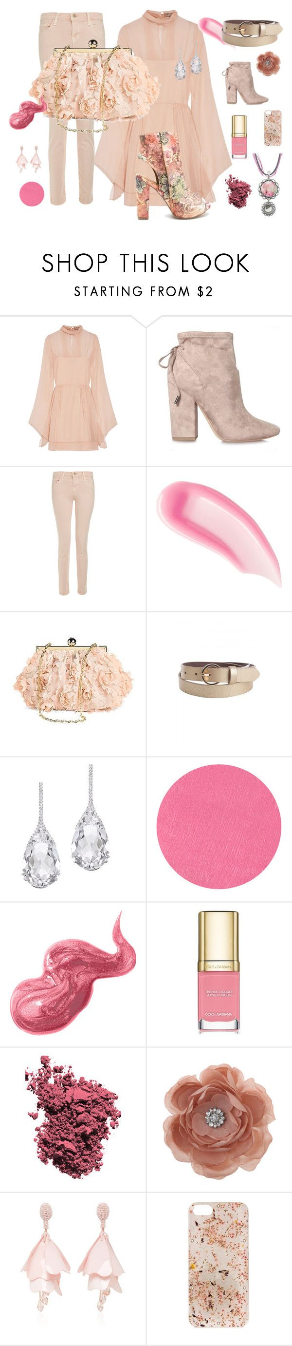 """""""Shabby Chic"""" by donna-l-wentz-hilbert ❤ liked on Polyvore featuring Emilio Pucci, Kendall + Kylie, J Brand, Chantecaille, Tevolio, Plukka, By Terry, Bobbi Brown Cosmetics, Dolce&Gabbana and Christian Dior"""