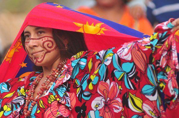 Mujer etnia Wayuu - Estado Zulia