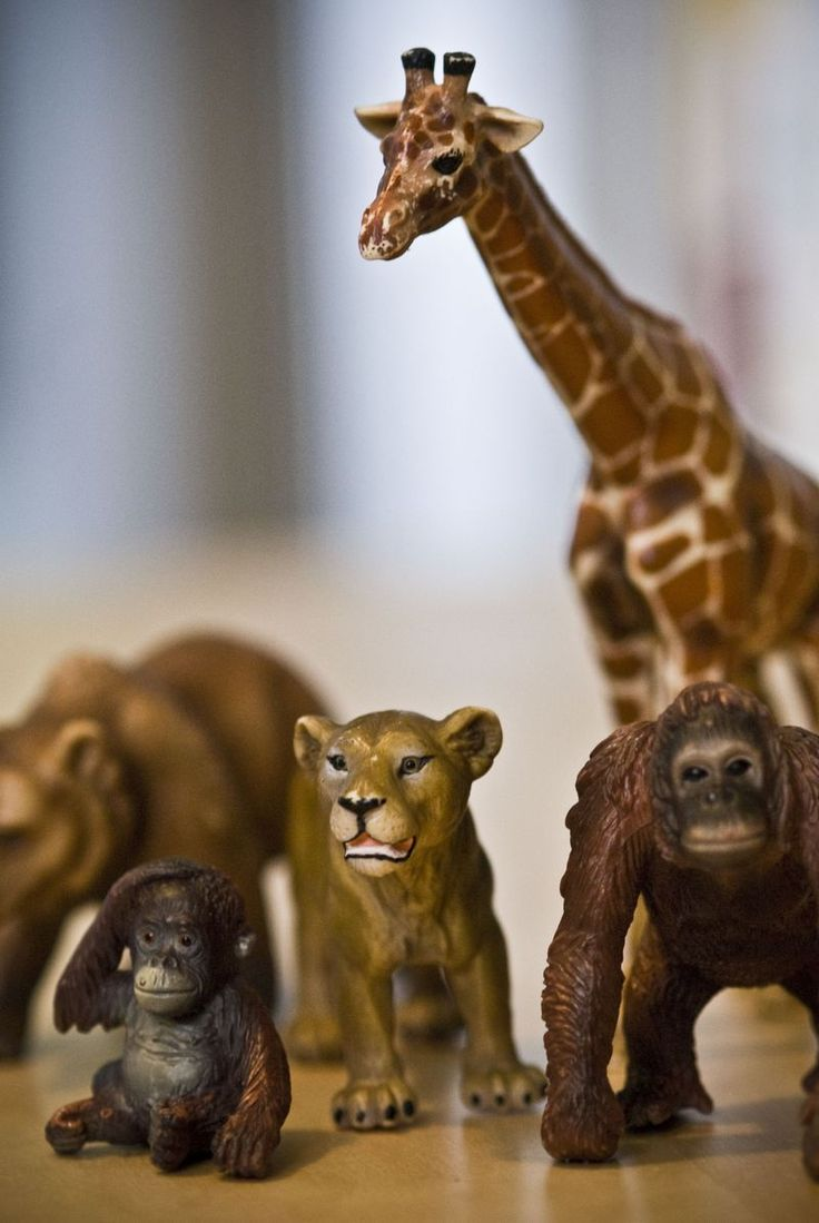 Schleich figurines for toddlers.