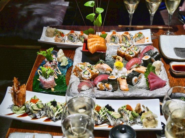 Laurent-Perrier Champagne and Sushi at Koi Kensington