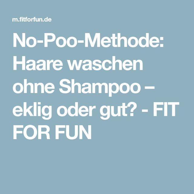 No-Poo-Methode: Haare waschen ohne Shampoo – eklig oder gut? - FIT FOR FUN