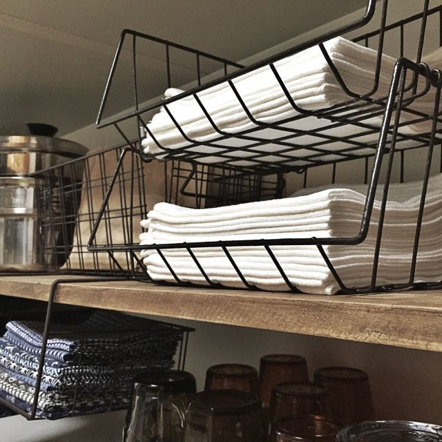 100均アイテムでキッチンの狭い空間をオシャレに収納 | RoomClipMag | 暮らしとインテリアのwebマガジン