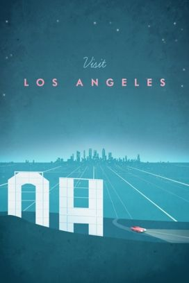 Travel poster - Henry Rivers - Los Angeles