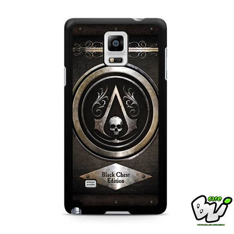 Assasins Creed Iv Black Flag Samsung Galaxy Note 4 Case