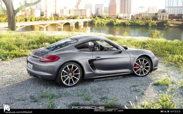 New Porsche 981 ( 2013 Cayman S ) -