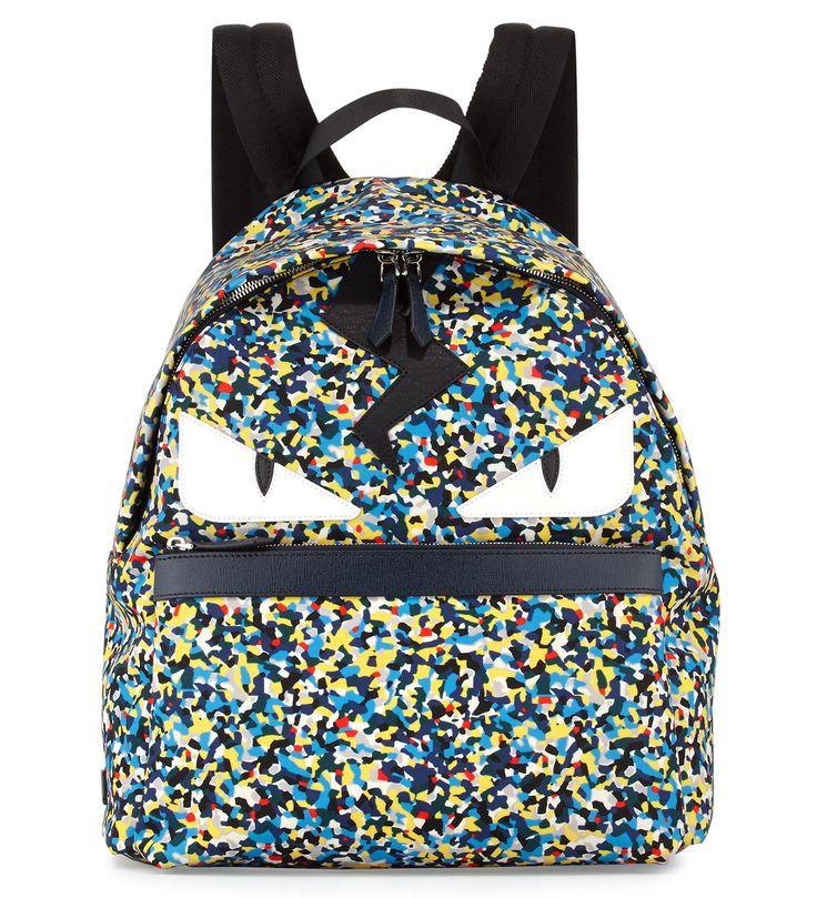 Fendi Men's Multicolor Confetti-Print Backpack Multi           $259.00