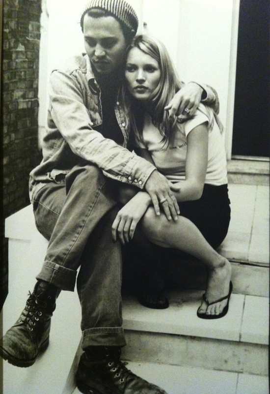 Ultimate 90s style iconic couple johnny depp and kate moss · linda mccartneyblack whitewhite