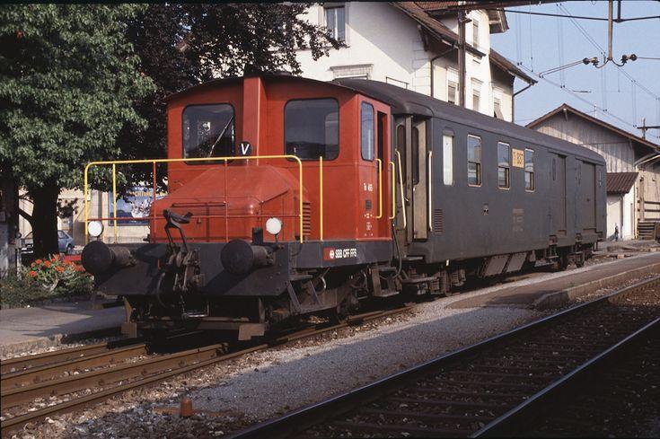 SBB Tm I 465 (27.08.1991, Menziken)