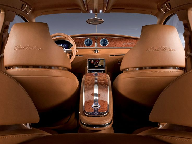 Delicieux 2009 Bugatti 16C Galibier Concept