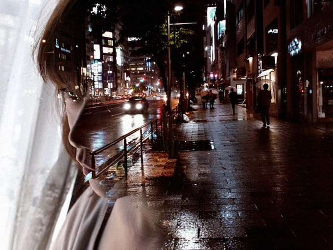 Photography by Miki Takahashi – double exposures
