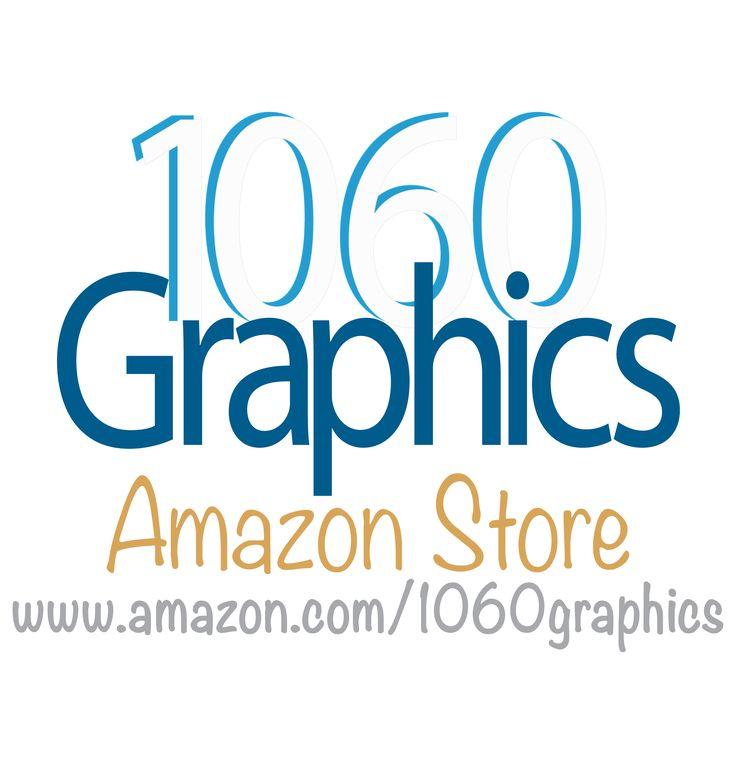 Custom vinyl lettering, by 1060 Graphics (Amazon store).