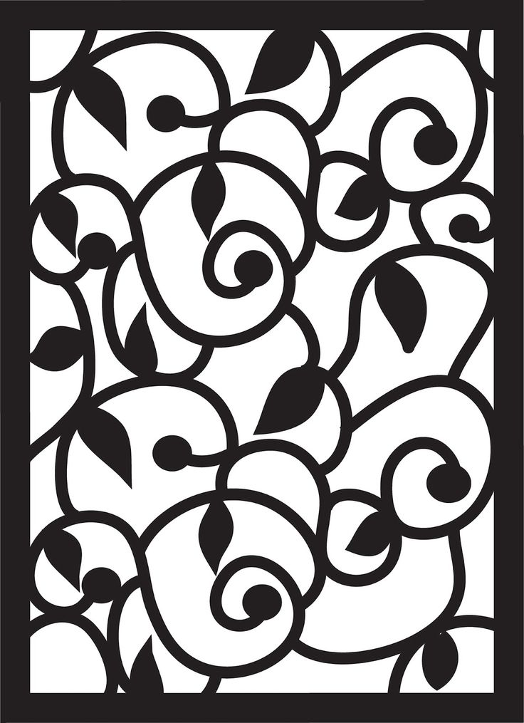 Paper Pulse Blog Spot: Swirls, Leaves, and Curls Pattern and other cute free patterns and ideas