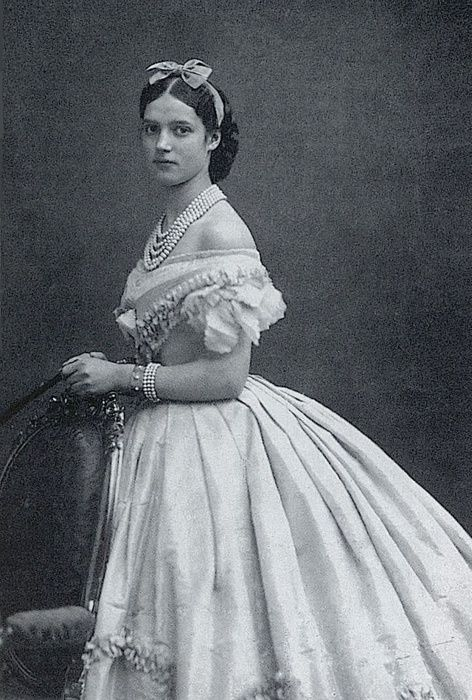 Princess Dagmar of Denmark, who became Empress Marie Feodorovna of Russia (1866)