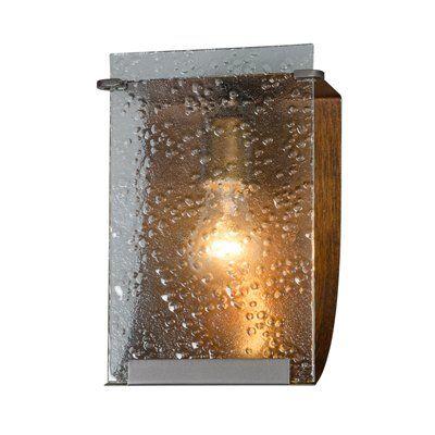 Varaluz 160B01 Rain 1 Light Vanity Light