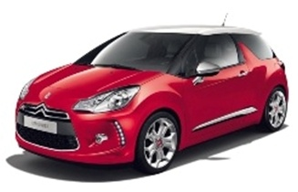 Citroen DS3 Sport Chic In Red with White Black Roof  IXO MOC122 £28.99