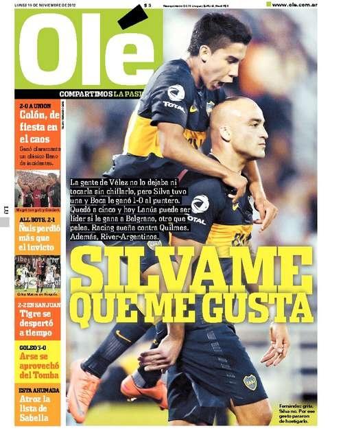 Velez 0 - Boca 1 /// Ole | Diario Deportivo