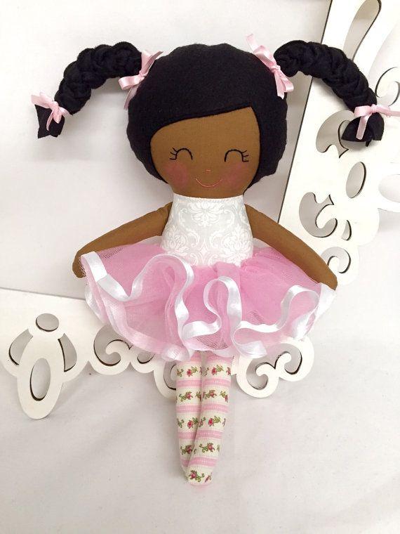 Ballerina Handmade Doll Rag Doll Fabric Dolls Soft Dolls Ballet Stuffed Dolls Fabric Cloth Doll Dancing Doll Tutu