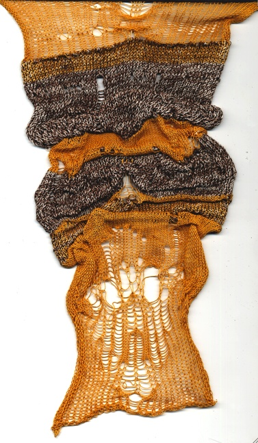 Jessica Castellano knit sample