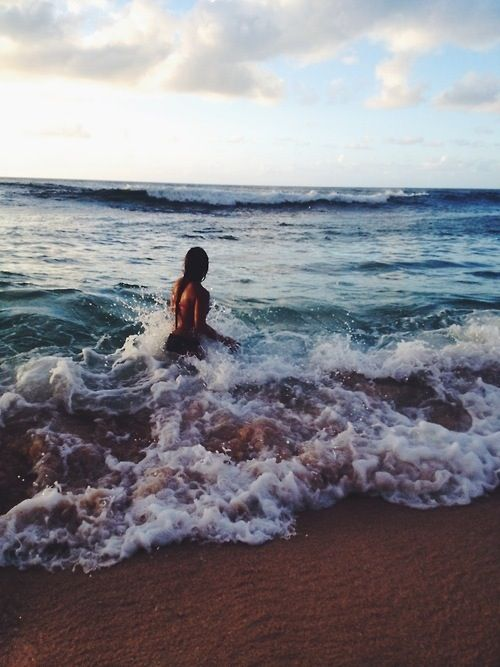 { ocean fun }.  When the weather gets very warm or extremely hot this is the place to! Ocean water, waves sometimes so strong it might knock you down but it is soooo