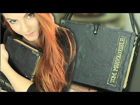 ▶ DIY :: Bolsa Livro - Tom Riddle Diary - YouTube