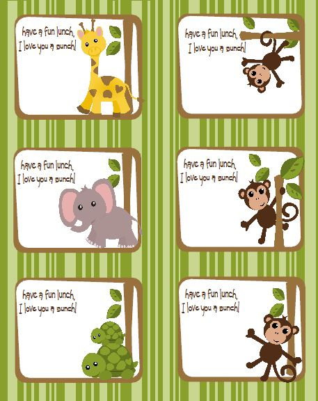28 Best Images About Name Tags On Pinterest Jungle Gym